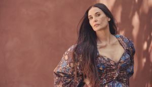 Demi Moore in Beverly Hills. Photograph: Ramona Rosales/The New York Times