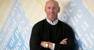 Gareth Thomas says he was diagnosed after a routine sexual health test.