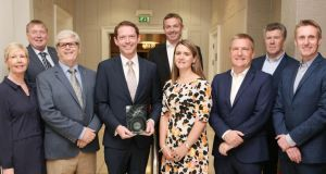 Stephen Teap (centre) has been named Cork Person of the Month for September.