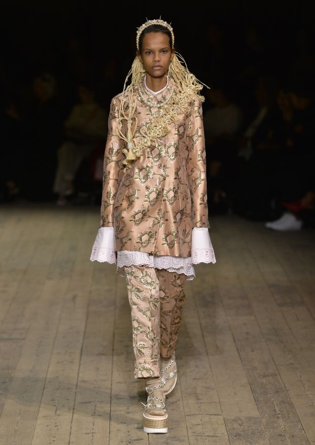 A new work from Simone Rocha dazzles London Fashion Week 2019. Photograph: Photograph: Simone Rocha