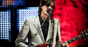 The Cars: Ric Ocasek in 2011. Photograph: Chad Batka/New York Times