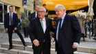 'Bog off Boris' - PM Johnson is booed after Brexit talks