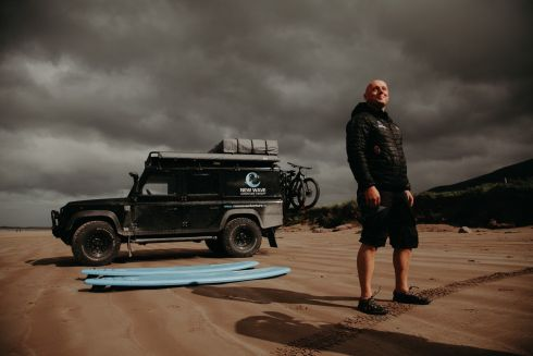 ADVENTURE THERAPY: Philip Stallard, director of New Wave Adventure Therapy, which has been announced as the national winner of the 2019 European Business Awards' Inflexion European Entrepreneur of the Year Award. Photograph: True Media