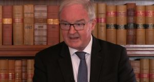 Northern Ireland's Lord Chief Justice Declan Morgan. Photograph: David Young/PA Wire