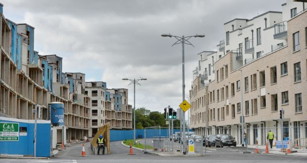 New Priory estate: Of the 105 newly completed apartments, 49 are being sold on the open market, 39 will be used for social housing and 17 will be handed back to buy-to-let investors.   File photograph: Alan Betson/The Irish Times