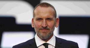 Christopher Ecclestone: the actor has revealed his struggles with anorexia. Photograph: Justin Tallis/AFP/Getty
