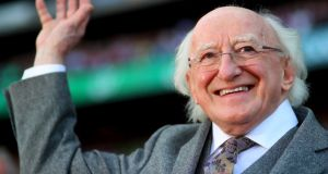 President Michael D Higgins: old work practices must not be allowed re-emerge under the cloak of supposed innovation. Photograph: INPHO/Tommy Dickson