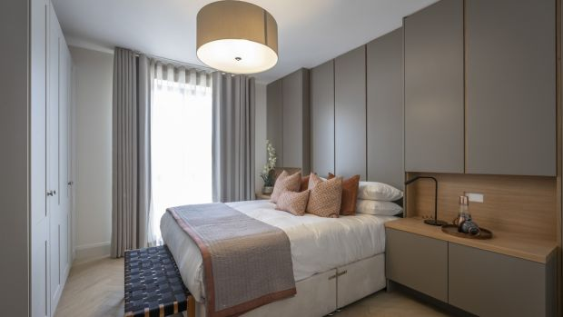 Bedroom in apartments