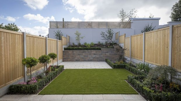 Garden in new homes