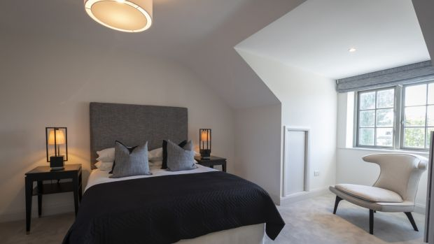 Bedroom in new homes