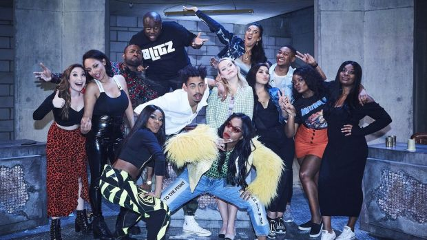The cast from series one of Don't Hate the Playaz