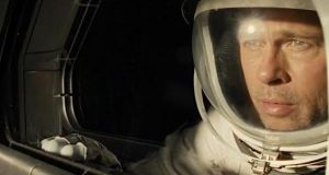 Brad Pitt plays a cool-headed, emotionally-stunted astronaut