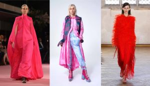 London Fashion Week: from the collections of Richard Quinn, Katie Ann McGuigan and Sharon Wauchob