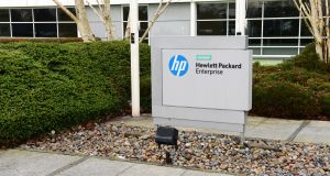HPE employs almost 700 people in Ireland, including at its offices in Kildare, pictured above, Dublin and Galway. Photograph: Dara Mac Dónaill/The Irish Times
