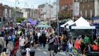 Stoneybatter's annual street party. Photograph: Cyril Byrne / The Irish Times