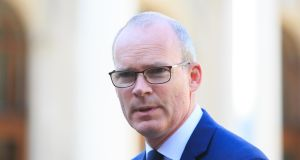 Tánaiste Simon Coveney said the French 'have committed to ensuring a separate lane in Calais for Irish trucks coming off ships from Dover'. Photograph: Gareth Chaney/Collins