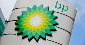 BP fell 1.4% as crude prices dropped. Photograph: Nick Ansell/PA Wire