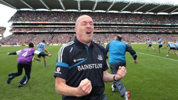 Pat Gilroy came in as manager for 2009 and transformed the team. Photograph: Morgan Treacy/Inpho