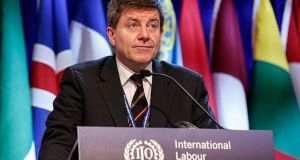 "ILO director general Guy Ryder has warred that ""accelerating disruptions"" in the world of work and in societies are leaving people disoriented and growing inequalities are fuelling resentment."