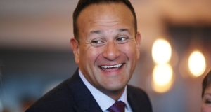 Taoiseach Leo Varadkar: chastised his Ministers over negative briefings. Photograph: Niall Carson/PA Wire