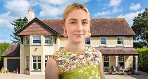 Saoirse Ronan is selling her five-bedroom, five-bathroom home in Co Wicklow. Irish Times photomontage