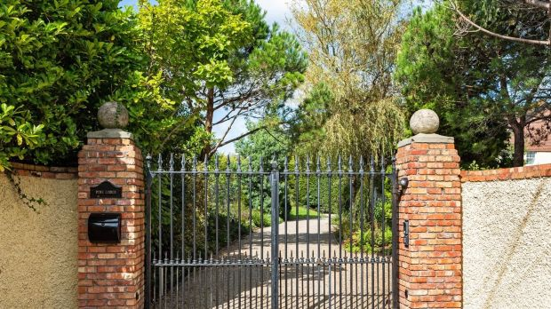 Pine Lodge: the gates into Saoirse Ronan's Co Wicklow home
