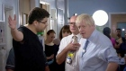 Boris Johnson confronted at  hospital by parent of sick child