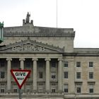 Nobody has ever proposed that Stormont has a veto over anything – British government proposals admit its role would ultimately be consultative. Photograph: Eric Luke
