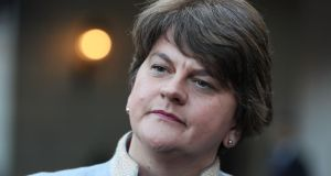DUP leader Arlene Foster: 'We do recognise the unique history and geography, but we also have to recognise that we are in the United Kingdom.' Photograph: Brian Lawless/PA Wire