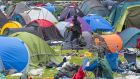 Discarded camping equipment at an Electric Picnic campsite on the Monday after this year's festival. Photograph: Dave Meehan/The Irish Times