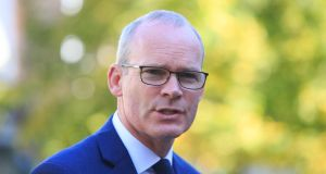 "Tánaiste Simon Coveney has issued a ""dose of reality"" about the prospects for a Brexit deal. Photograph: Collins"