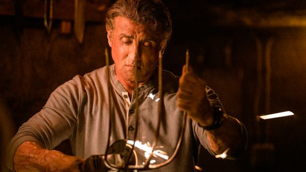 Archaic patriotism wedded to Old-Testament justice: Sylvester Stallone in Rambo: Last Blood