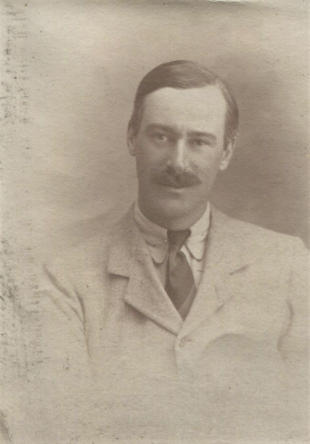 Andrew Edward (Teddy) Mulholland, killed at Ypres, 1914. Image reproduced by permission of Lord and Lady Dunleath