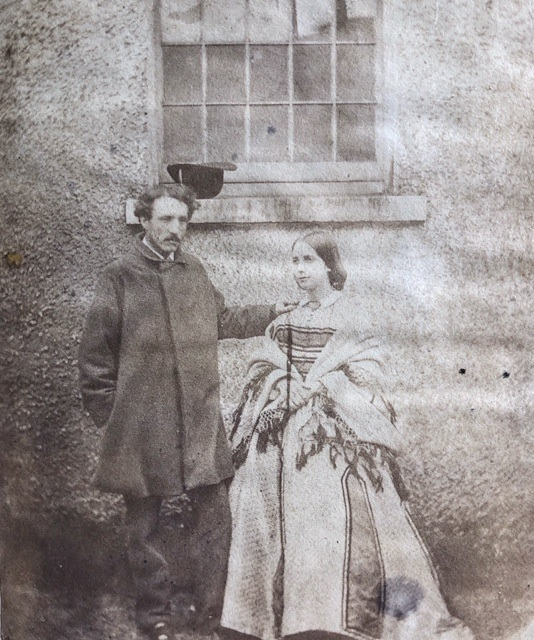 Norah Hill Ward and Capt Somerset Ward. Image reproduced by permission of Karen Ievers