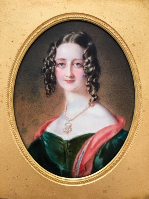 Cassandra Knight, Lady George Hill, Jane Austen's niece. Image reproduced by permission of Karen Ievers