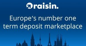 Raisin bank is expected to accept lump sums from  €2,000 to €5,000, depending on the partner bank, up to a maximum of €100,000