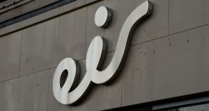 Eir denied there was an issue with the rollout of fibre to 300,000 homes. Photograph: Alan Betson