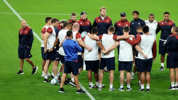 Eddie Jones has named a full strength side for England's opener against Tonga. Photograph: David Rogers/Getty