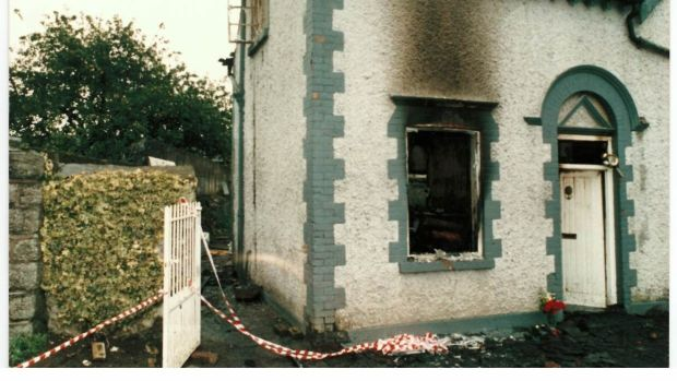 The fire in Church Lane, Kilcock in Co Kildare claimed the lives of Kerrie Byrne (3) Mary Ellen Byrne (8) and their aunt Barbara Doyle (20).