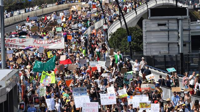 Tens of thousands strike against climate change in Australia - Irish Times