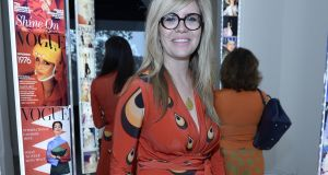 Emma Barnett: 'If men were tasked with producing the next generation, I think everyone would have a gynaecologist.' Photograph:  David M Benett/Getty