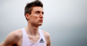 Mark English said he was 'thrilled' and 'relieved' after receiving an eleventh hour invite to the World Athletics Championships. Photograph: Tommy Dickson/Inpho