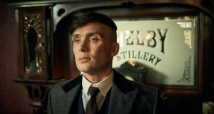 The end of days . . . Cillian Murphy as Tommy Shelby in the series five finale of Peaky Blinders. Photograph: Robert Viglasky/BBC/Caryn Mandabach Productions