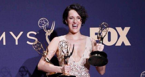 Emmys 2019: Phoebe Waller-Bridge's comedy series, Fleabag, won 4 awards. Photograph: Nina Prommer/EPA