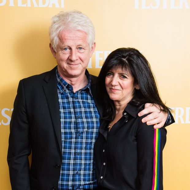 Scarlett Curtis's parents: Richard Curtis and Emma Freud. Photograph: Jeff Spicer/Getty/UPI