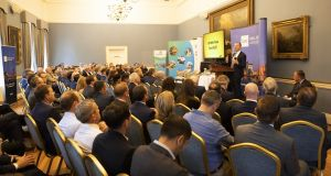 QRE managing director Conor Whelan addressed the Commercial Real Estate  – Future Focus seminar