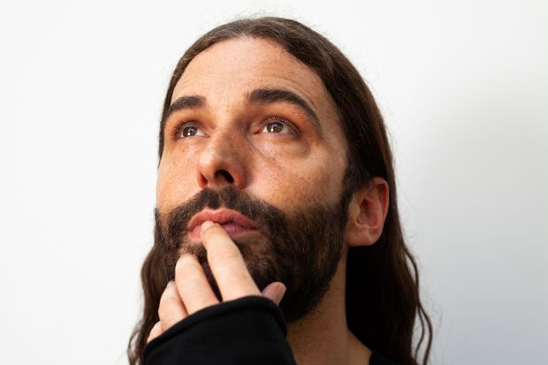 Jonathan Van Ness: The Queer Eye star opens up about being an addict, a sexual abuse victim and HIV-positive in a new memoir. Photograph: Isak Tiner/New York Times