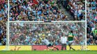 When Stephen Cluxton came off his line early for the penalty save which denied Paul Geaney a goal in the drawn final, I had it rerun within eight or nine seconds in the commentary position. This type of 'ref-assist' doesn't have to be unacceptably intrusive. Photograph: James Crombie/Inpho