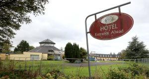 Former Connemara Gateway Hotel in Oughterard: locals fear it may be transformed into a direct provision centre. Photograph: Joe O'Shaughnessy