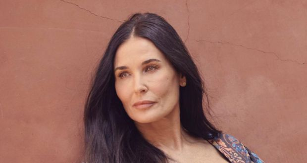 Demi Moore: the actor spoke candidly on Good Morning America. Photograph: Ramona Rosales/New York Times